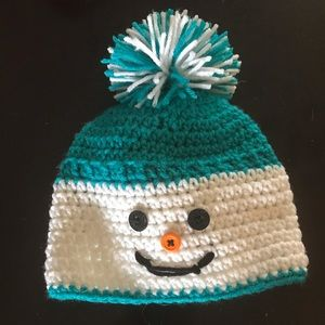 Happy Snowman Hat